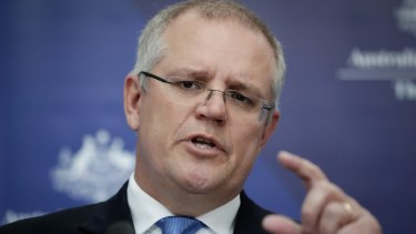 Treasurer Scott Morrison has rejected Labor claims that inequality has reached a 75-year high.
