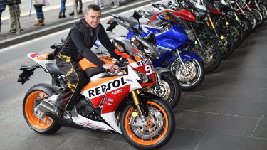 Motorbike owner Jan Jonker bought a bike to save on petrol and to beat the traffic.