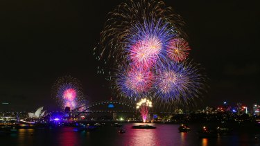 High traffic zone: extra network resources are necessary at New Year celebrations in Sydney.