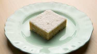 Classic lemon slice, the stuff of the Country Women's Association's fever dreams.