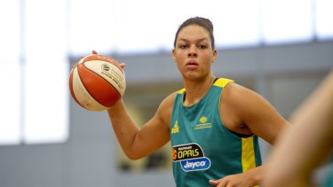 Left out: Opal Liz Cambage.