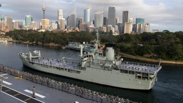HMAS Tobruk will be sunk off the Fraser Coast