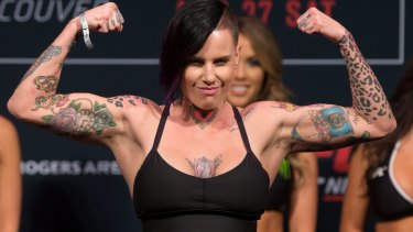 Brisbane UFC fighter Bec Rawlings.