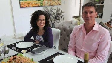 Kitchen Cabinet's Annabel Crabb and Liberal senator Cory Bernardi.