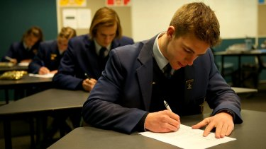 Salesian College in Sunbury has adopted blind marking for all its English classes to avoid bias.