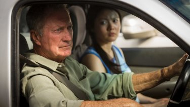 Bryan Brown and Jenny Wu, like the rest of the cast in <i>Australia Day</i>, have a message to deliver.