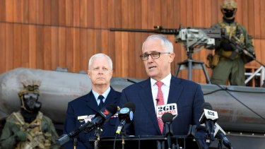 Prime Minister Malcolm Turnbull is pushing the states and territories to adopt tougher national security laws.