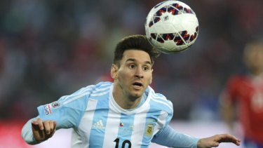 'I'm not just any footballer,' proclaim the slick Adidas TV commercials, featuring soccer star Lionel Messi.