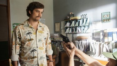 Wagner Moura stars in Narcos.