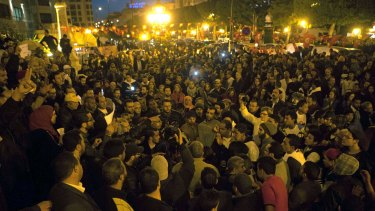 Unity: Tunisians gather to show solidarity with the victims of the attack at a museum in Tunis.