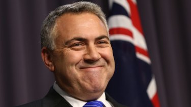 """Committed to reducing income taxes"": Joe Hockey."