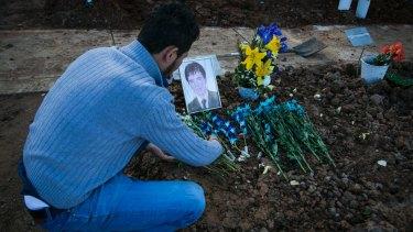 The grave of Hazara asylum seeker Mohammad Hadi, one of a spate of suicides amongst Afghanistan Hazara asylum seekers in Australia.