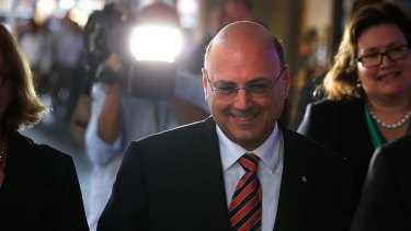 Senator Arthur Sinodinos is a former finance director and treasurer of the NSW Liberal Party.