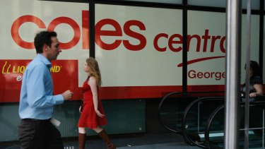 Keen to break into financial services: Signing up with the Financial Services Council would give Coles crucial information about trends in the industry.