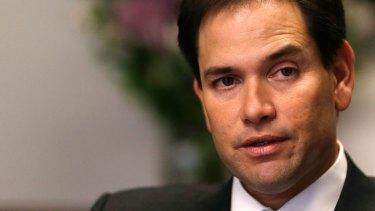 Republican Senator Marco Rubio.