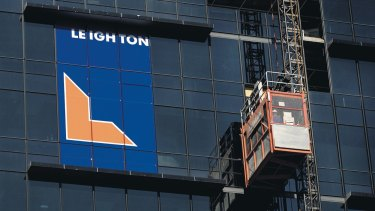 Leighton, now known as CIMIC, is facing a lawsuit from a joint venture partner in the Middle East.