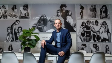 """Country Road managing director Darren Todd: """"The aim is to get the balance right between modernity and diversity but not lose sight of our heritage values of style and quality."""""""