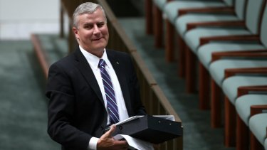Nationals MP Michael McCormack was elected to Parliament in 2010.