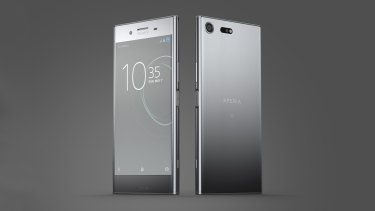 The Xperia XZ Premium has a lot going on.