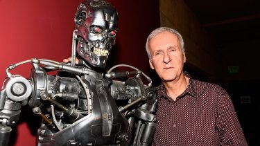 'Microsoft Word is as sophisticated as I get': James Cameron attends a 30th Anniversary Screening Of <i>The Terminator</i> in Hollywood.