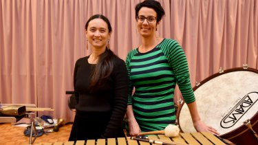 Caitlin Yeo and Claire Edwardes are celebrating the work of women composers.