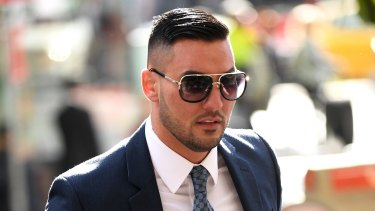 "Salim Mehajer was involved in a ""relatively serious"" crash on the way to court."