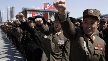 North Korea have hacked into US-South Korean military plans, including a plan to remove Kim Jong-un.