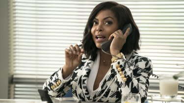Taraji P. Henson plays Ali Davis, a sports agent who can hear the unspoken thoughts of men, in What Men Want.