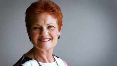 Let parents decide on vaccines: One Nation leader Pauline Hanson.