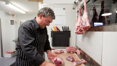 Peter Shaw, butcher of The Meat Store in Bondi Junction.
