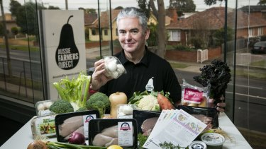 Aussie Farmers Direct CEO Keith Louie says small food retailers are shaking up the $1.8 billion online grocery market by offering inspiration as well as convenience.