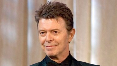 David Bowie, seen here in 2007, died in January.
