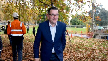 Premier Daniel Andrews has announced expressions of interest for 'pre-works' for the Melbourne Metro Rail Project.