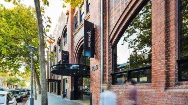 The heritage building Dexus is buying in Pyrmont.