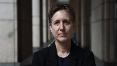Sally McManus, the new secretary of the ACTU.