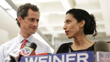 Federal law enforcement officials uncovered the new emails after seizing devices belonging to top Clinton confidante Huma Abedin and her estranged husband Anthony Weiner.