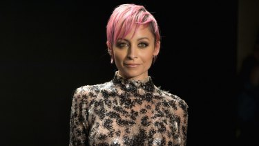 American fashion designer,  author and television personality Nicole Richie was in Sydney as international ambassador for Saturday's Golden Slipper race at Rosehill Gardens.
