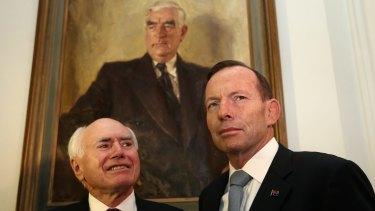 John Howard and Tony Abbott: successors to Robert Menzies.