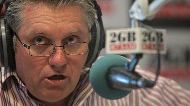 Talkback host Ray Hadley.