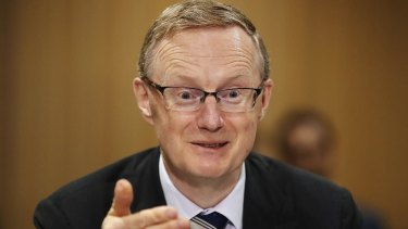 Staying on course:  RBA governor Philip Lowe has kept rates on hold.
