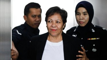 Acquited: Maria Elvira Pinto Exposto would have faced execution if she had been found guilty.