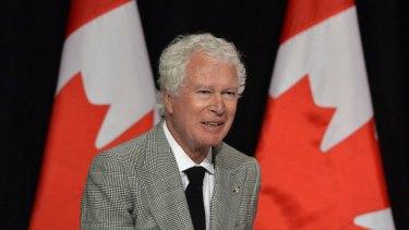 Ken Taylor, former Canadian ambassador to Iran, in Toronto, Canada, in 2013.