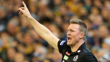 If Collingwood is your religion, then coach Nathan Buckley must be your God?
