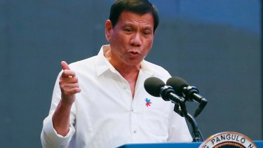 Philippine President Rodrigo Duterte has looked to shift the pro-US, anti-China stance of predecessors.