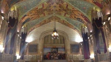 Regent Theatre's heritage foyer.