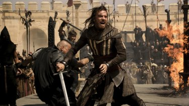 Michael Fassbender's character Cal Lynch rebels against the world in a violent way.