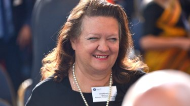 """""""For an industry that delivers so much, wouldn't you think there would be just a little more understanding and less negativity for what mining contributes to our country?"""": Gina Rinehart."""