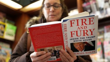 Fire and Fury has already become a No.1 bestseller just days after it was released.