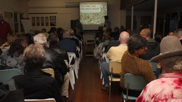 More than 100 people gathered in Mt Lawley on Thursday to voice their grievances about development assessments in Perth.