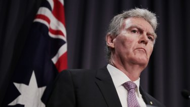 ASIO chief Duncan Lewis says the current threat from foreign espionage is unprecedented.